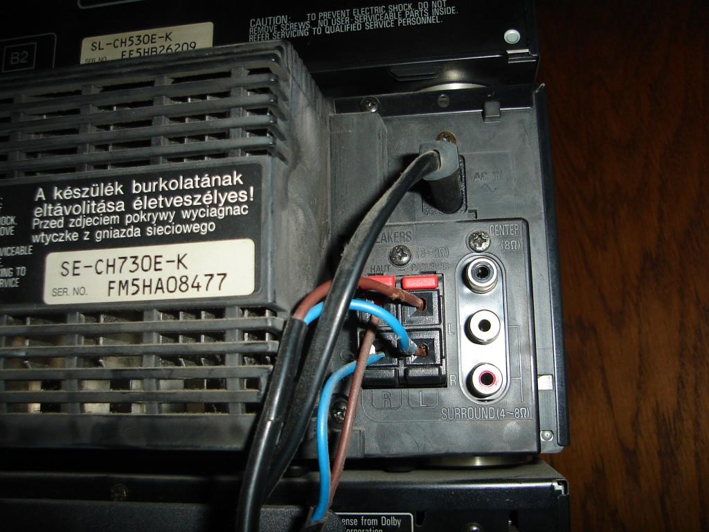 SC-CH730 - Pod��czenie dekodera do wie�y