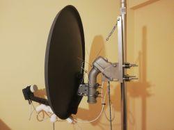 Ułatwienie ustawienia anteny satelitarnej