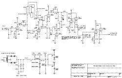 Wzmacniacz gitarowy typ SLO100 - Przedwzmacniacz nie działa poprawnie