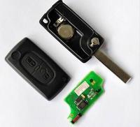307SW - Kluczyk scyzoryk, centralny działa, nie czyta immo.