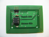 RFID reader 125kHz with integrated antenna
