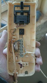 Podłączenie nowego domofonu Cyfral Smart-5P w miejsce starego