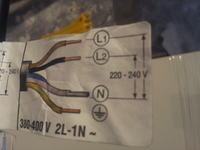Siemens EH 651TE11E - PRAWIDŁOWE PODŁĄCZENIE PŁYTY INDUKCYJNEJ