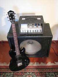Gitarowy wzmacniacz lampowy 2W