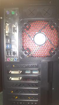 Philips 223V - Nietypowe podłączenie 2 monitorów do PC