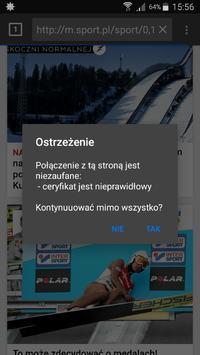 Galaxy A5 - Nieprawidłowe certyfikaty podczas przeglądania internetu