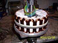 budowa alternatora 12v do motocykla od zera