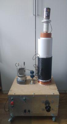 Cewka Tesli (VTTC) na lampie GU-81