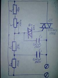 Regulator fazowy na YTR816 600E jak zmienic zakres zegulacji