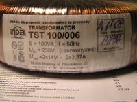 Przezwajanie transformatora Indel TST 100/006 - pytanie