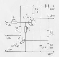 Opel Vectra A 95r - Skasowanie błędu poduszki przez ALDL 10 pin ab-com/tech2