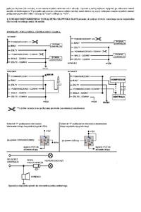 centralny zamek na pilota - audi 80 (B3)