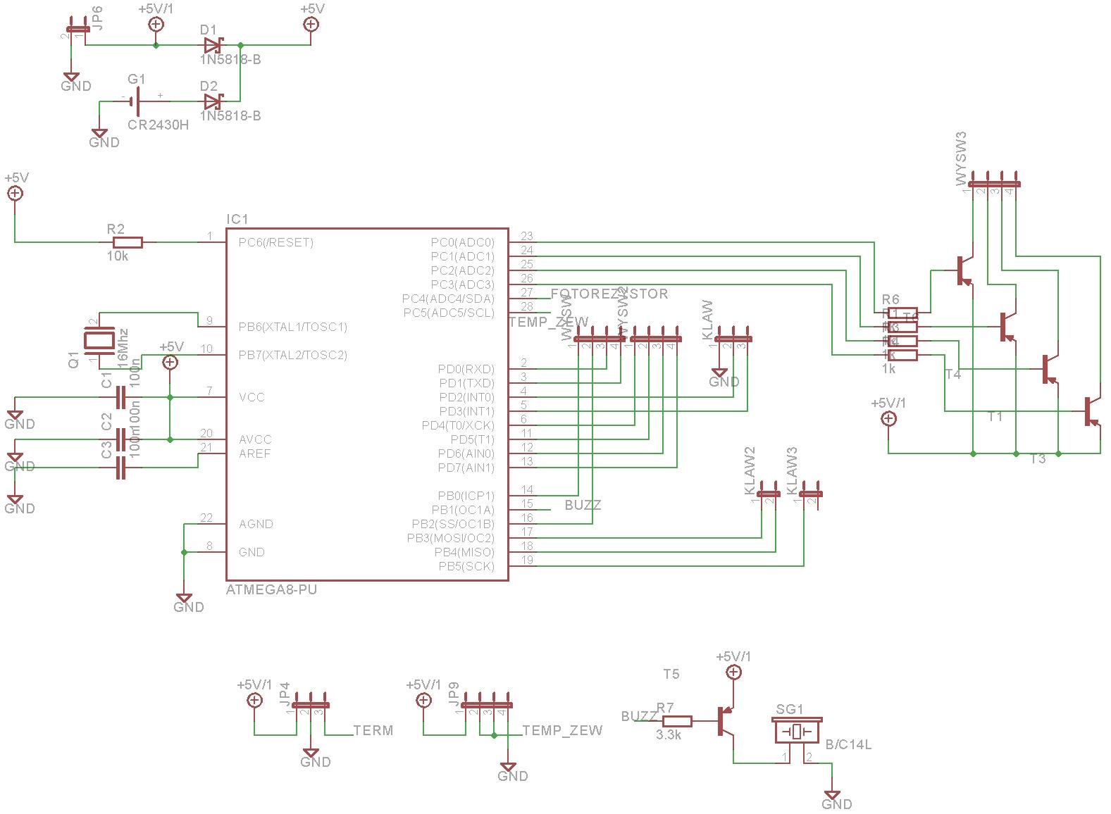 ATmega 8A - Wykorzystanie pinu raz jako wej�cie a raz jako wyj�cie