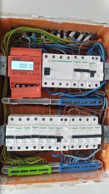 Niedziałający wyłącznik różnicowo-prądowy.