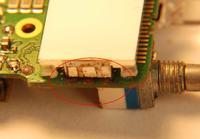 Baofeng UV5R - Naprawa ścieżki na płytce