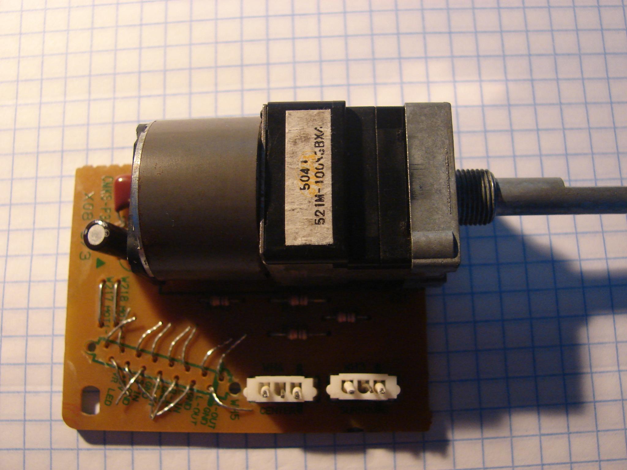 Jakie ko�c�wki mocy do amplitunera oraz pytanie o potencjometr wielokan�owy?