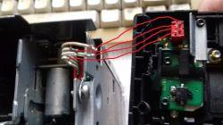 Zmieniarka Philips CDC3 W1G - urwany przedni panel