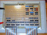 Magic-1 komputer oparty o układy TTL podłączony do internetu