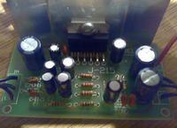 Wzmacniacz na TDA2005. Głośniki lekko buczą i nie grają.