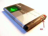 Nokia 3510i zasilana bateriami AAA