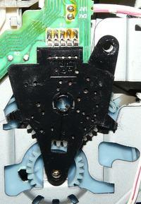 VCR Akai VS-F220 przełącznik funkcji i mechanika