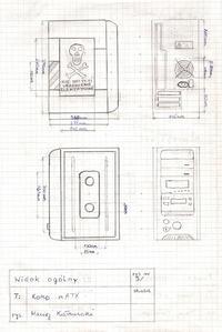 Extra Modding obudowy antycznego PC Compaq
