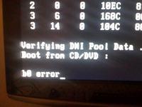 Seagate 500GB, błąd podczas bootowania systemu operacyjnego