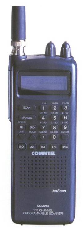 Commtel COM-213, COM213 Instrukcja GER