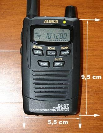 Alinco DJ-X7E, DJX7E instrukcja EN