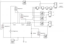 symulacja układów analogowych R L C w matlab simulink.