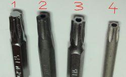 Porównanie zestawów wkrętaków na małe bity.