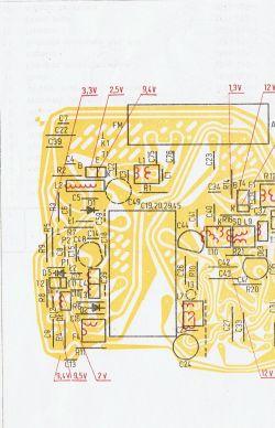 Unitra Taraban 2 DMP-602 - Przestrajanie Tarabana kondensatorami w głowicy