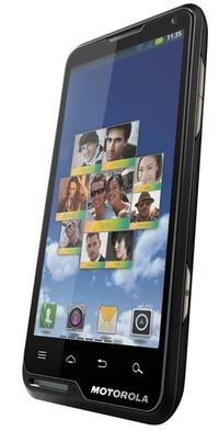 Motorola MOTOLUXE super cieńki smartphone z Androidem + wideo