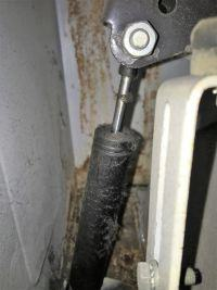 TAMAT500 miota nią przy starcie wirowania i urwany amortyzator