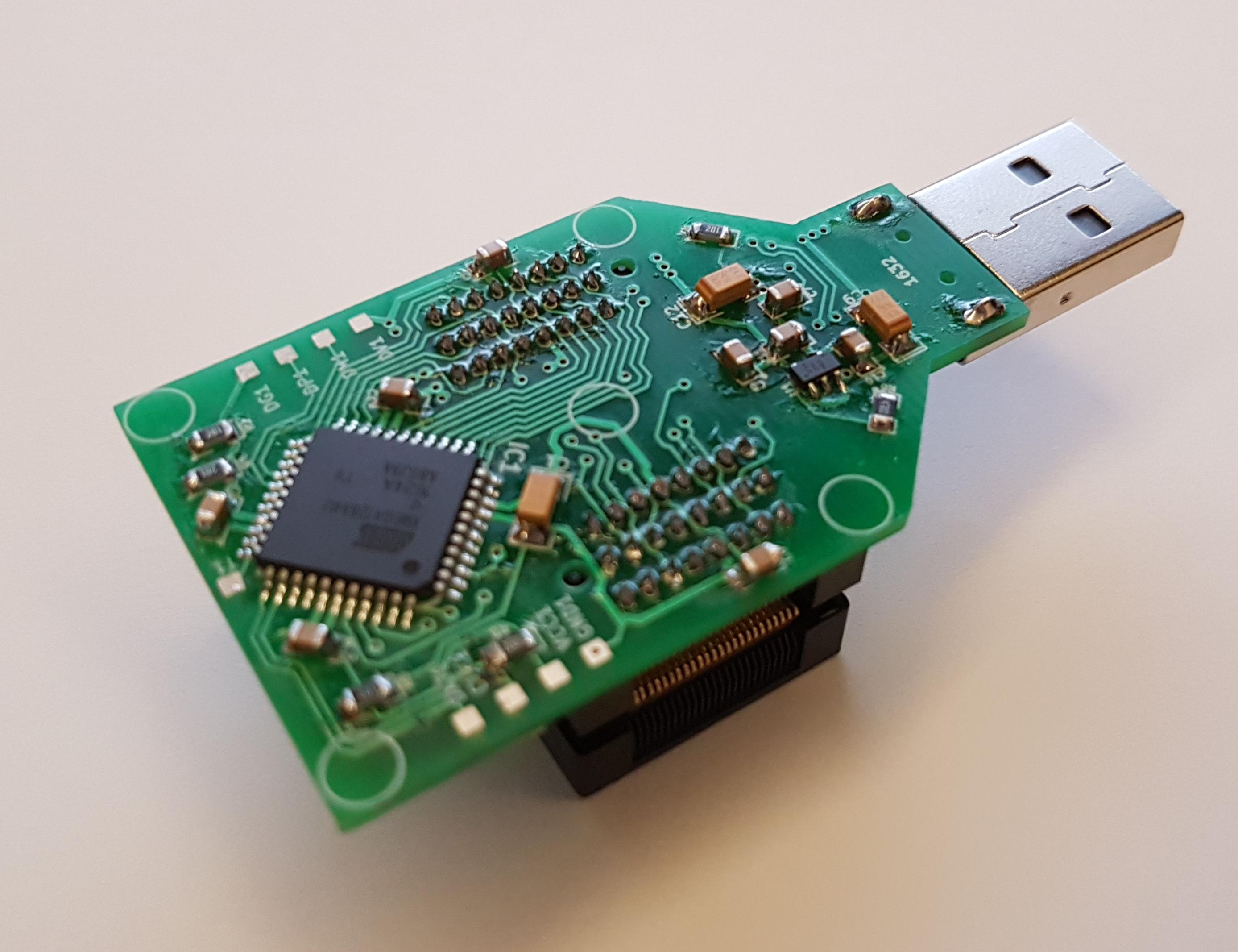 Flash NAND Lite memory programmer! TSOP48 - elektroda com