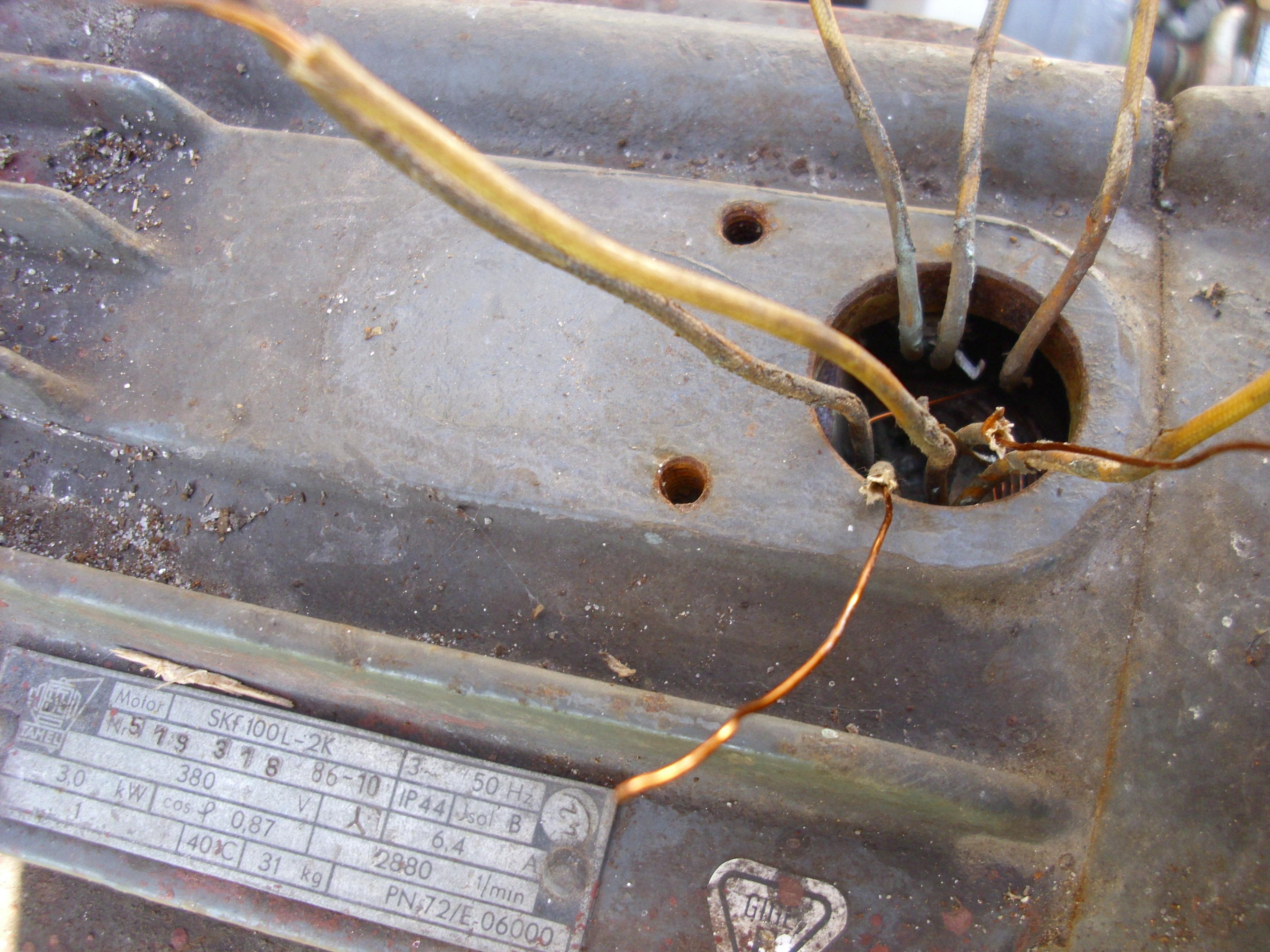 Pod��czenie starego silnika
