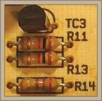Pralka Candy G04 105 - Spalona ścieżka i oporniki na module