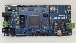 Quokka - płytka prototypowa z FPGA i WiPy i sterownikiem H-Bridge (Kickstarter)