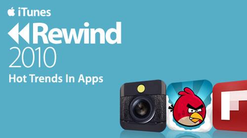 Najpopularniejsze aplikacje na iOS w 2010 roku