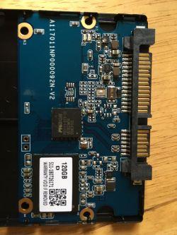 Goodram SSD CX300 - Nie widzi dysku - uszkodzony element