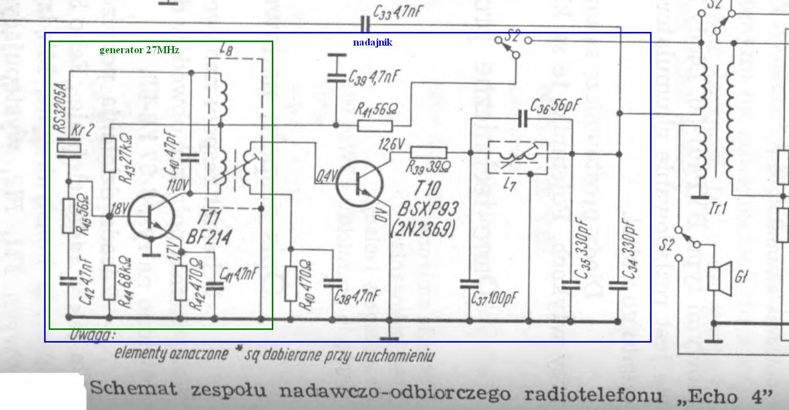 Nadajnik 27 MHz - Jak zbudowa�?