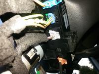 peugeot 308, niebieską wtyczka pod kierownica.. kolory, schemat..połączenie
