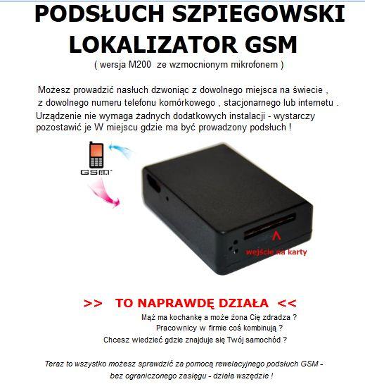Telefon jako lokalizator GSM