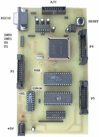 Program do wrzucania plików HEX do 80C535 (8051)