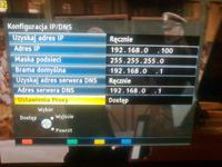 TV Panasonic TV P42ST50 - Brak internetu przez wifi