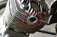 Kompresor  powietrza zbudowany za pokut� .