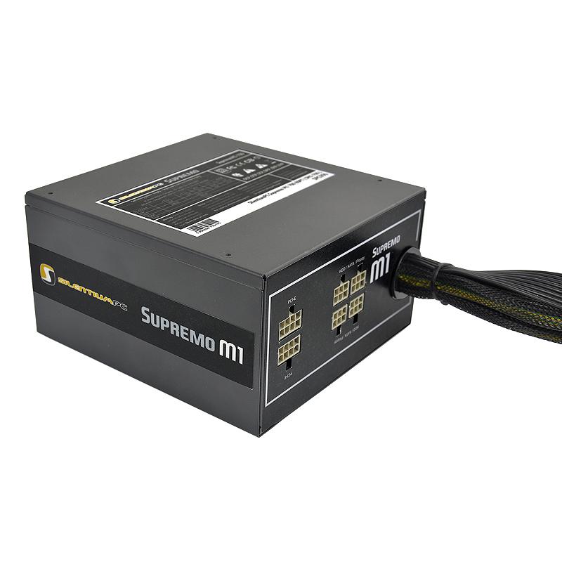 SilentiumPC 700W Supremo M1 - zasilacz ATX o mocy 700W i sprawno�ci do 94%