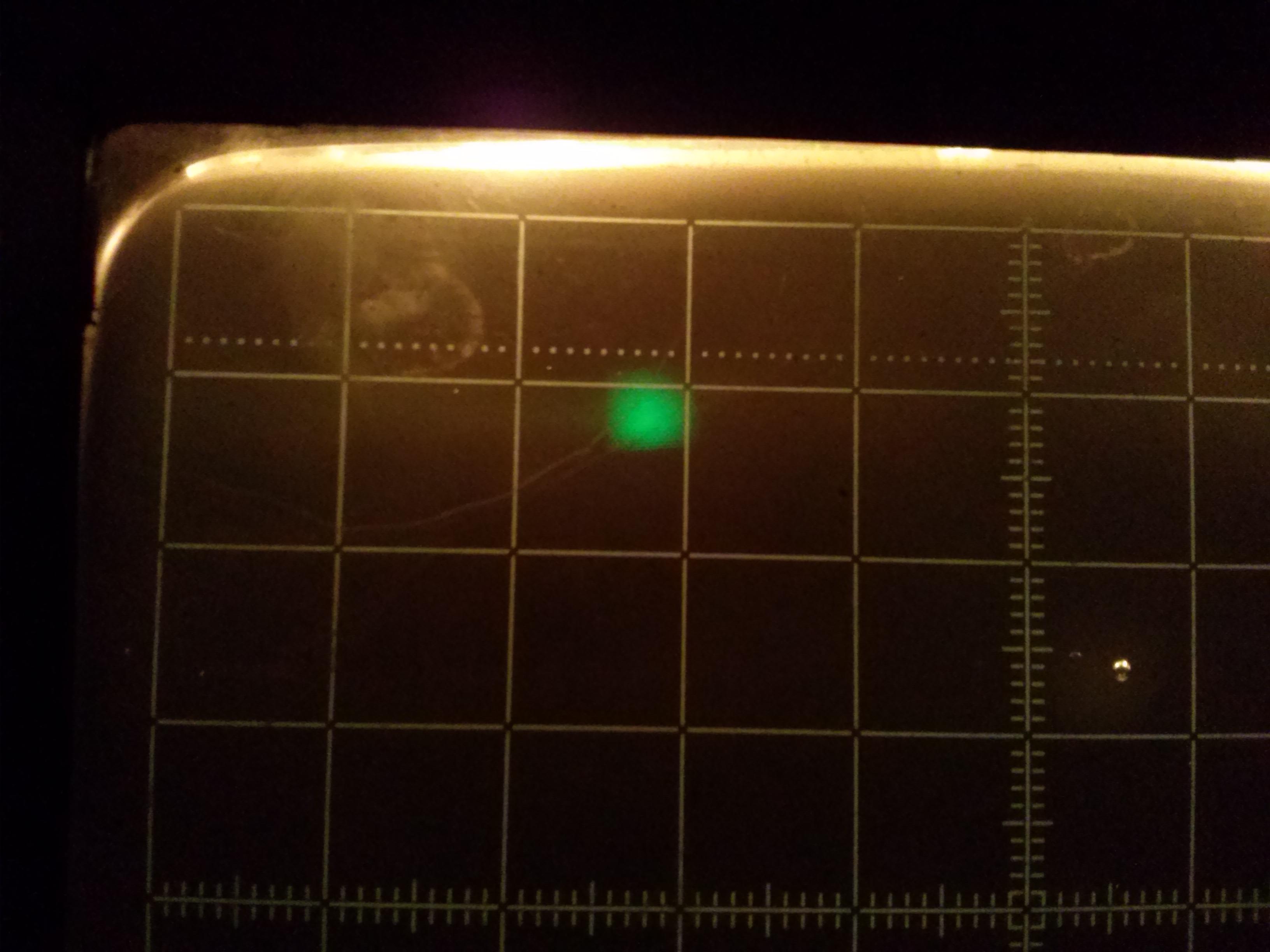 Oscyloskop DT6620 - za du�a plamka