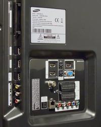 Połączenie TV Samsung LE40C650 L do wieży.