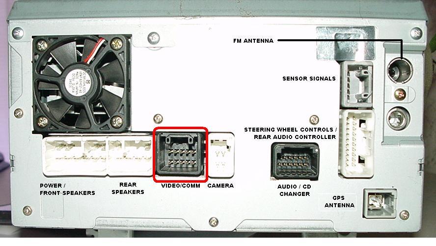 Nawigacja Toyota Corolla Schemat Podłączenia Elektroda Pl